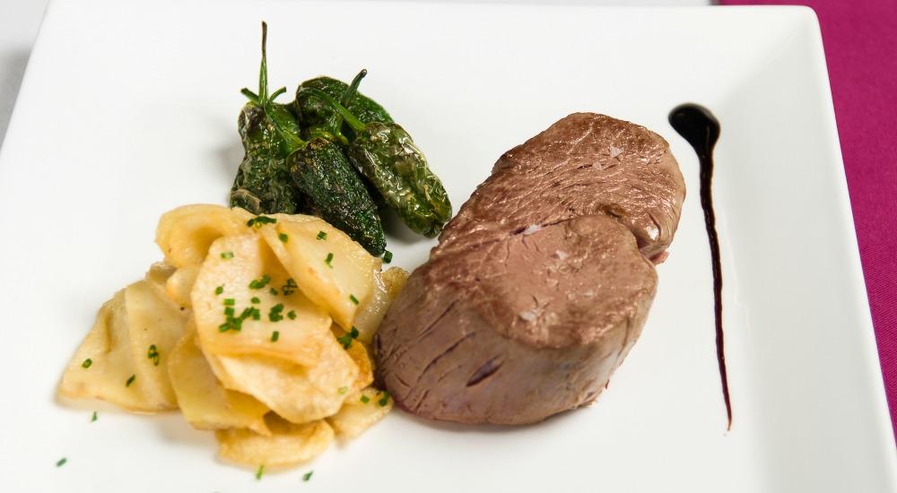 Solomillo De Ternera A La Plancha Restaurante Artabria