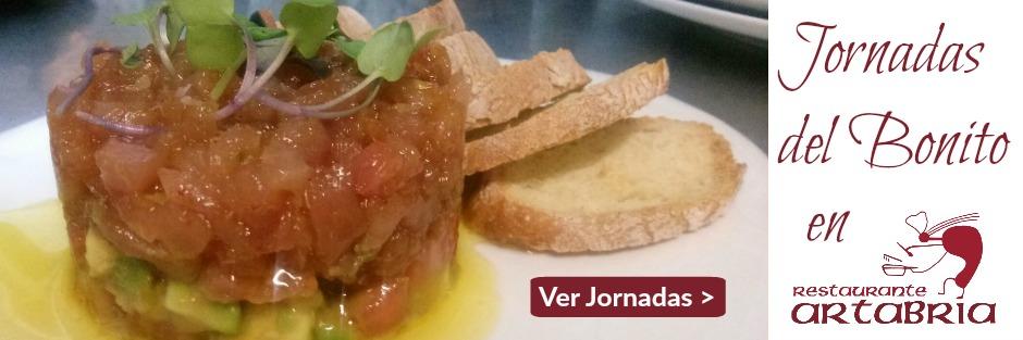 Jornadas del Bonito 2017 - Restaurante Artabria