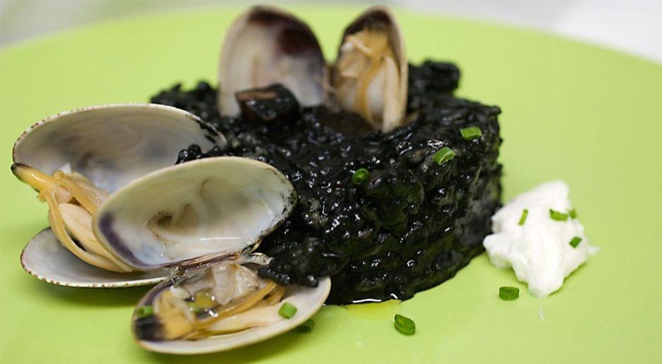 arroz negro restaurante coruña Artabria