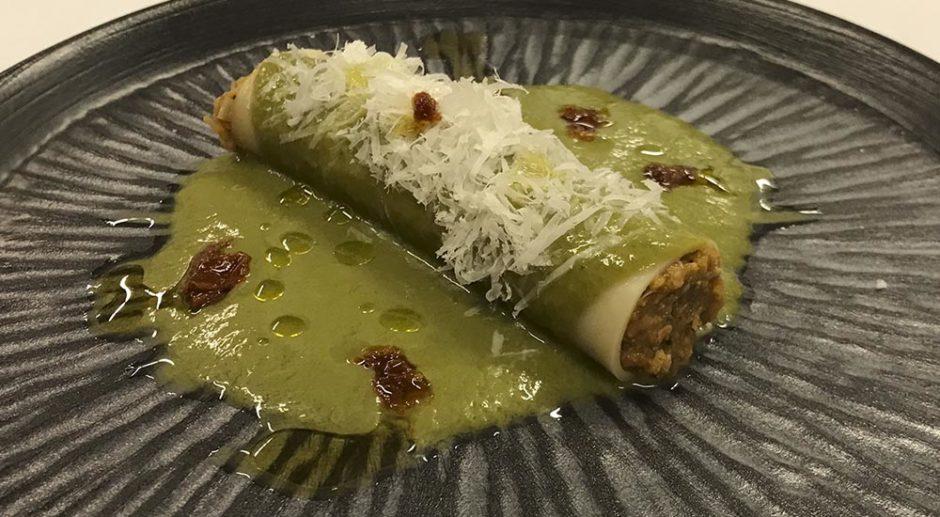 canelón de txangurro Restaurante Artabria